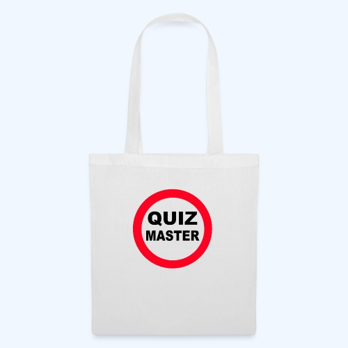 Quiz Master Stop Sign - Tote Bag