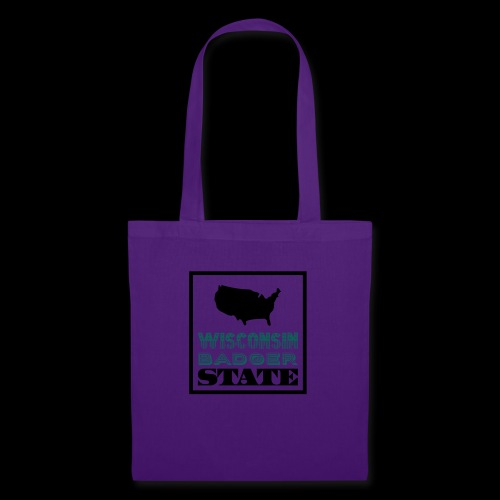 Wisconsin BADGER STATE - Tote Bag