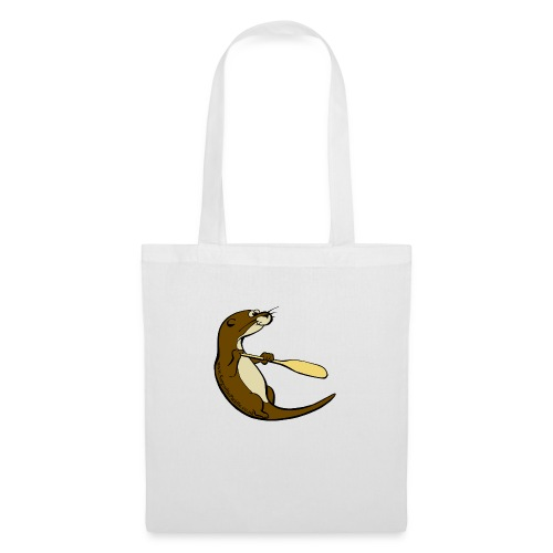 Song of the Paddle; Quentin classic pose - Tote Bag