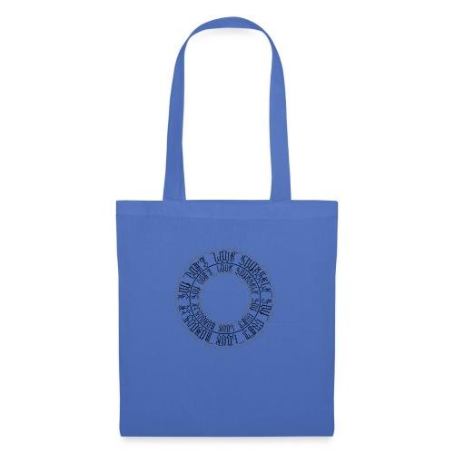 CALLIGRAPHY-CIRCLE - Borsa di stoffa