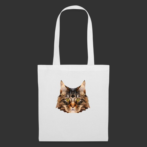 Chat LowPoly - Tote Bag