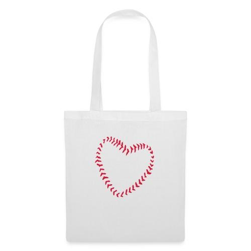 2581172 1029128891 Baseball Heart Of Seams - Tote Bag