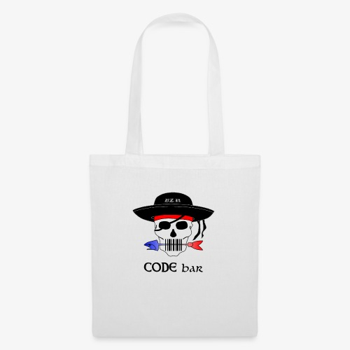 Code Bar couleur - Sac en tissu