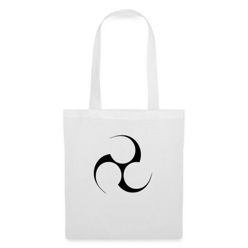 Mitsudomoe Symbol (invertiert) - Stoffbeutel