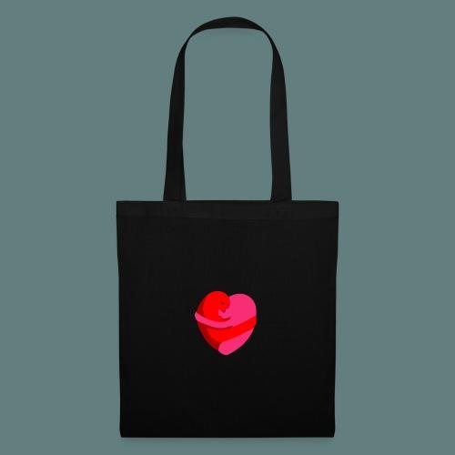 hearts hug - Borsa di stoffa