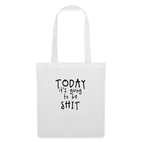 Shitty_day_en-png - Tote Bag