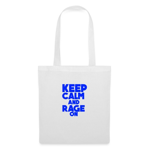 KeepCalmAndRageOn - Tote Bag
