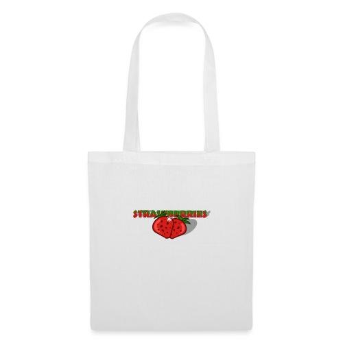 Strawberries - Tygväska