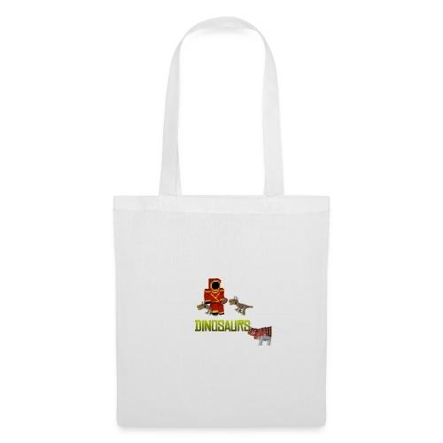 Minecraft Dinosaurs T-shirt - Tas van stof
