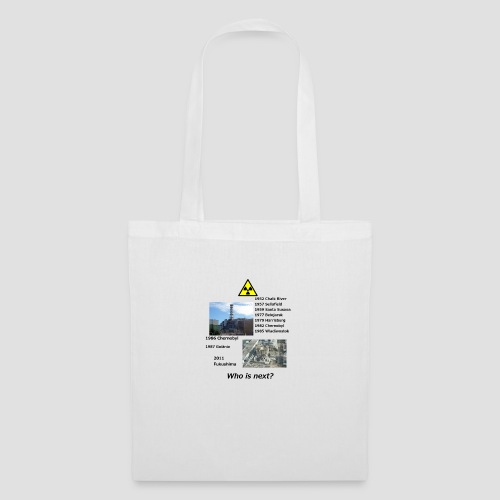 no nuclear button Who is next? - Tote Bag