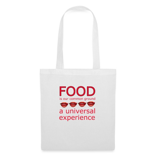 Food is our common ground, a universal experience - Tas van stof
