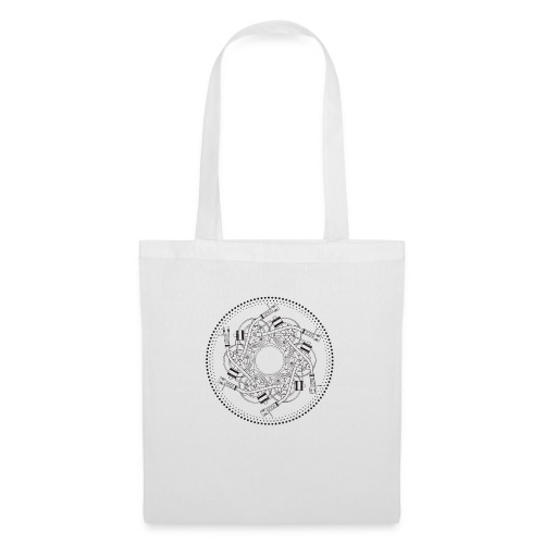 mandala turntable 1210 - Borsa di stoffa