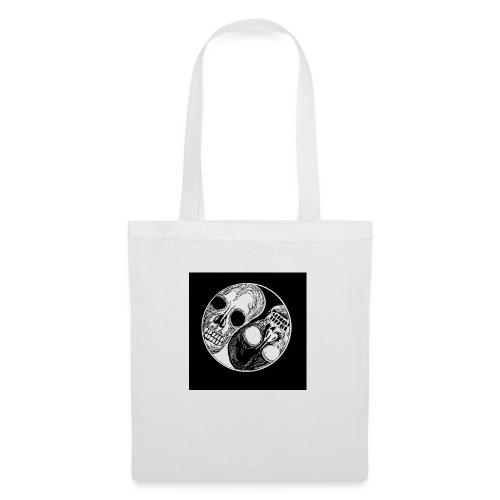 Yng yang skull - Tote Bag