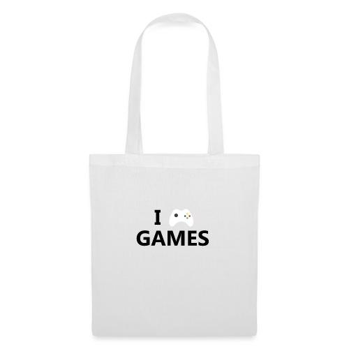 I Love Games - Bolsa de tela