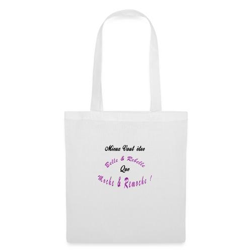 BELLE ET REBELLE - Tote Bag