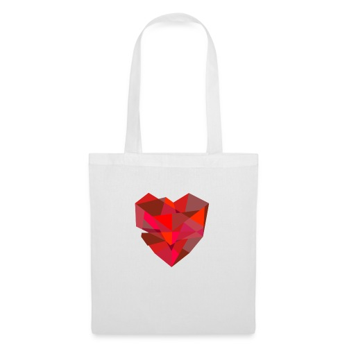 Poly-Heart - Bolsa de tela