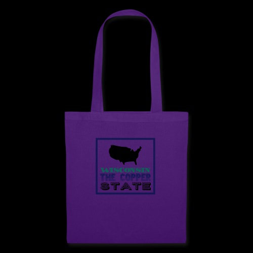 WISCONSIN THE COPPER STAT - Tote Bag