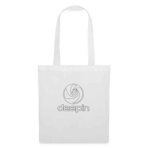 deepinlogotrasparente - Borsa di stoffa