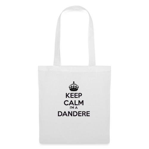 Dandere keep calm - Tote Bag