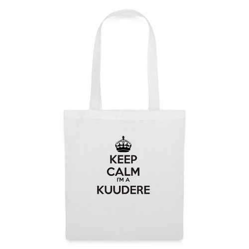 Kuudere keep calm - Tote Bag