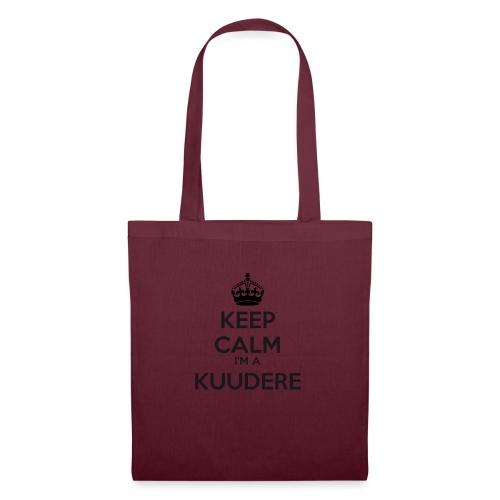 Kuudere keep calm - Tote Bag