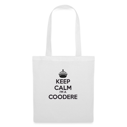 Coodere keep calm - Tote Bag