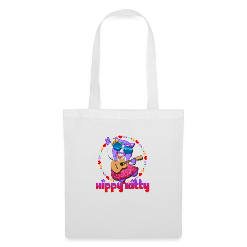 Hippy Kitty - Borsa di stoffa