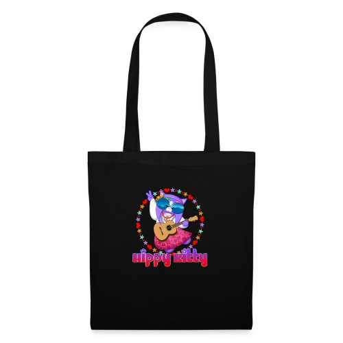 Hippy Kitty - Borsa di stoffa