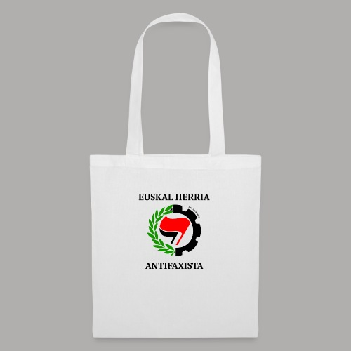 EH antifaxista pour fond clair - Tote Bag