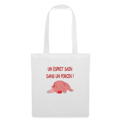 Porcitive Attitude - Tote Bag