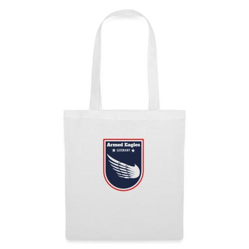 Armed Eagles com Logo B - Stoffbeutel