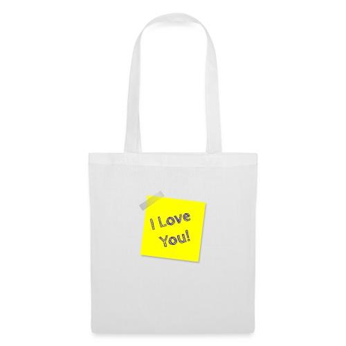 i love you - Tote Bag