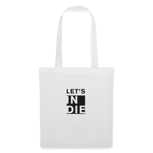 Official LET'S INDIE - Borsa di stoffa