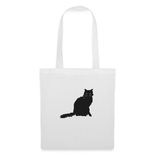 black cat - Stoffbeutel