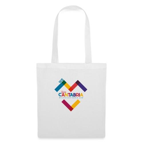Welovecantabria logo - Bolsa de tela