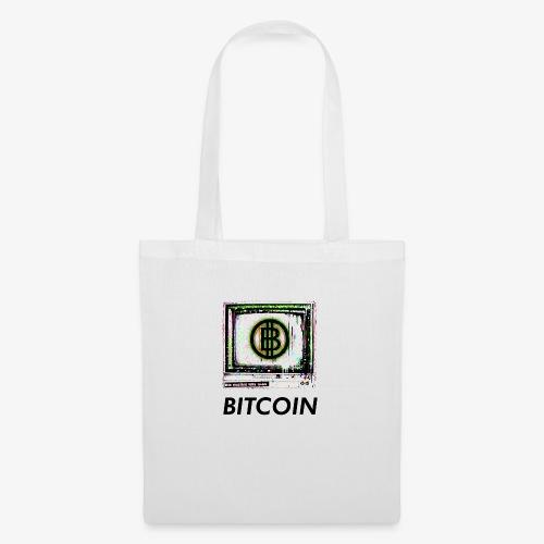 bitcoin Glitch - Stoffbeutel