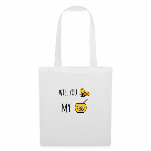 Will you bee my honey - Tote Bag