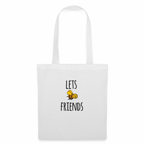 Lets bee friends - Tote Bag