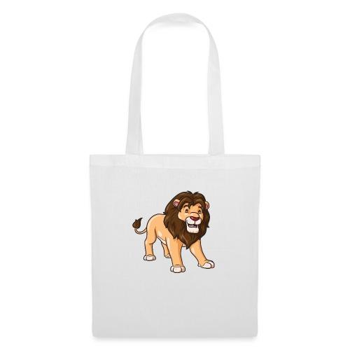 Löwe Comic süß - Stoffbeutel