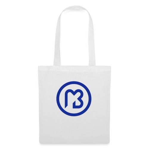 Mark Blast logo RVB macaron bleu - Sac en tissu