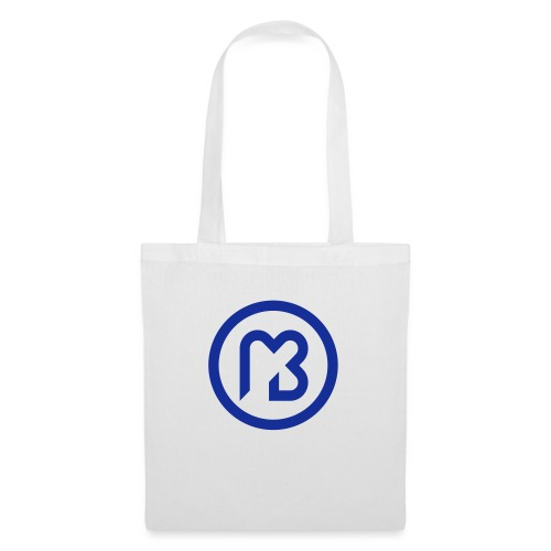 Mark Blast logo RVB macaron bleu - Tote Bag