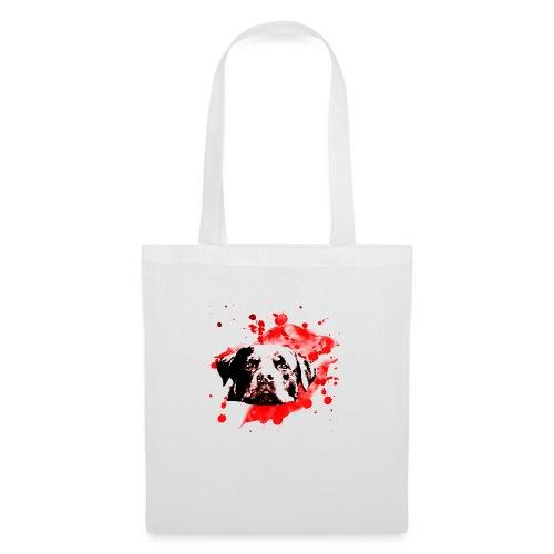 Rottweiler Watercolor red - Stoffbeutel
