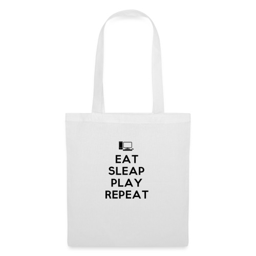 Eat Sleap Play Repeat - La routine des gamers - Tote Bag