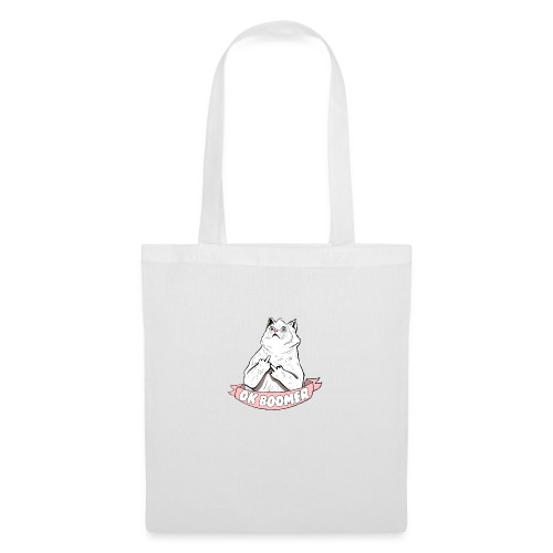 OK Boomer Cat Meme - Tote Bag