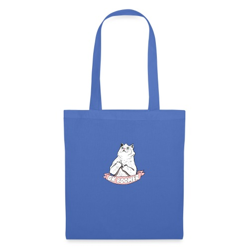 OK Boomer Cat Meme - Tote Bag