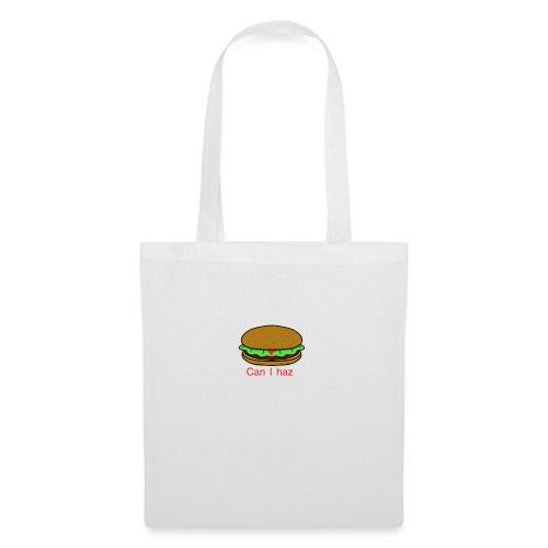 Can I haz hamburger. - Tas van stof