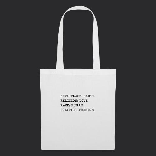HUMAN - Tote Bag