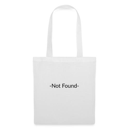 Not Found - Bolsa de tela