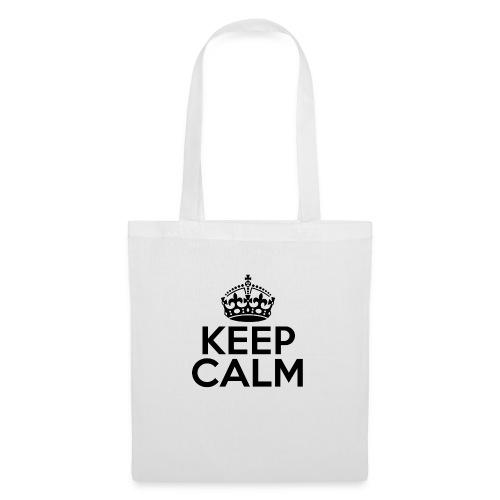 Keep calm - Borsa di stoffa