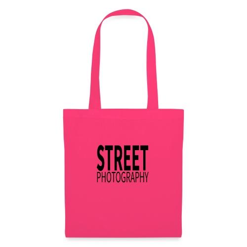 Street photography Black - Borsa di stoffa